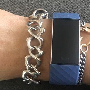 Tous Jewelry - Genuine TOUS Bear Infinity Bracelet all 925 Silver